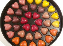 How cute are these pierremarcolini heart chocolates chocolate heart lovehellip