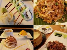 Delicious Asian dishes chikitchen Amazing sushi and the Baked Alaskahellip