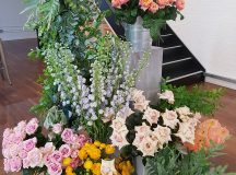 Flowers flowers everywhere at the press open day londonflowerschool londonhellip
