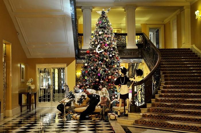The tree decorations