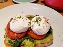 Happiness is smashed avo and great chat with tippettpr bronterestauranthellip