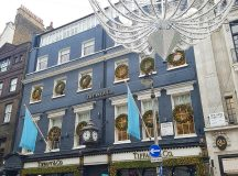 Blue Christmas tiffanyandco on Old Bond Street