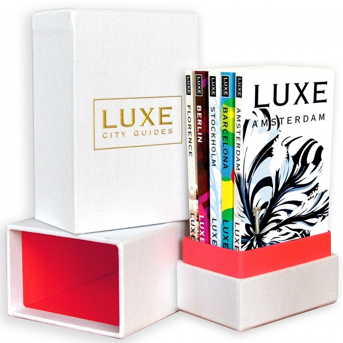 Win A LUXE City Guides White Linen Box Set