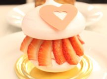 How cute is this Valentines Strawberry and Lychee Pavlova dominiqueansellondonhellip