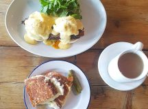 Brisket Benedict and the famous Grilled Cheese for brunch mortyandbobshellip