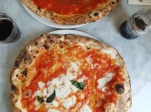 Margherita and Marinara pizza pizzeriadamichele in Stoke Newington via Napleshellip
