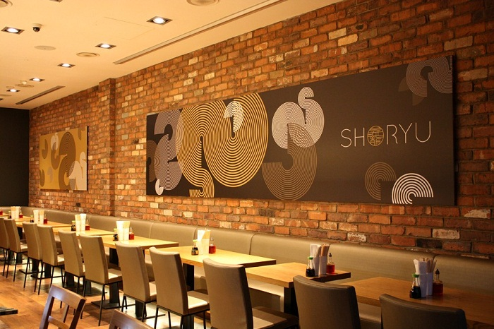 Tonkotsu Noodles At Shoryu Ramen – London
