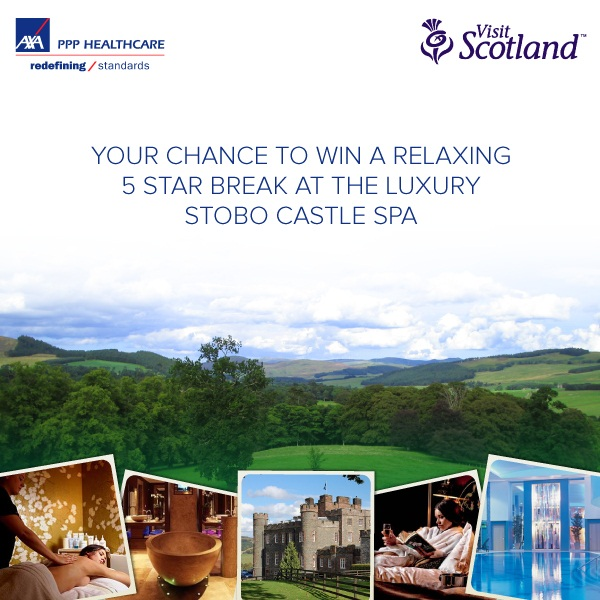 WIN A Stress-Free Trip To Stobo Castle, Scotland