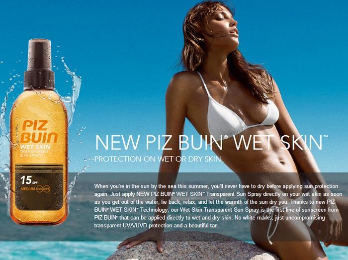 Piz Buin Wet Skin
