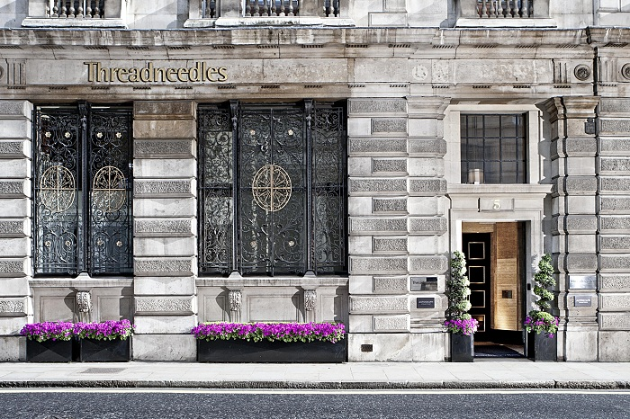 A Weekend Stay at Threadneedles Hotel – The City, London
