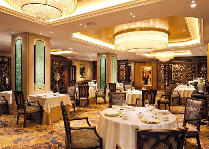 A luxury stay at shangri la paris for Hotel michelin
