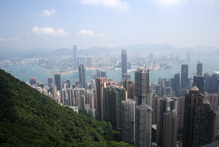 The View from The Peak Hong Kong