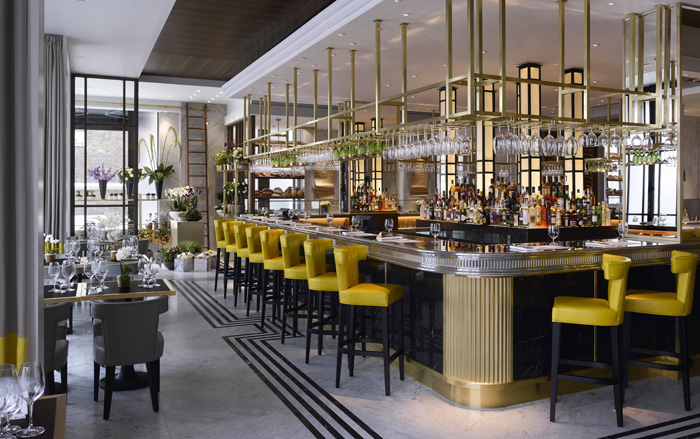 Pavilion kensington by adam simmonds - Deco bar design ...
