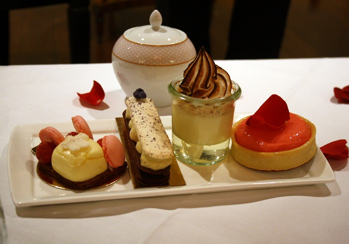 Le Tea en Rose Sofitel St James London