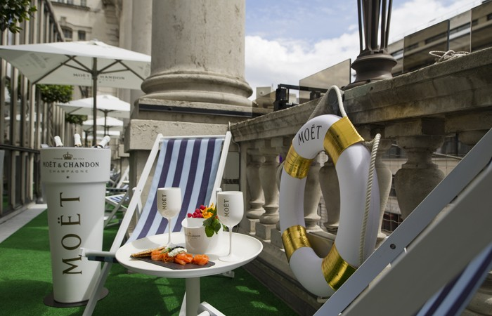 Moët & Chandon Summer Terrace at Le Méridien Piccadilly
