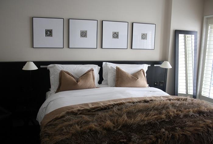 The Nadler Soho bedroom