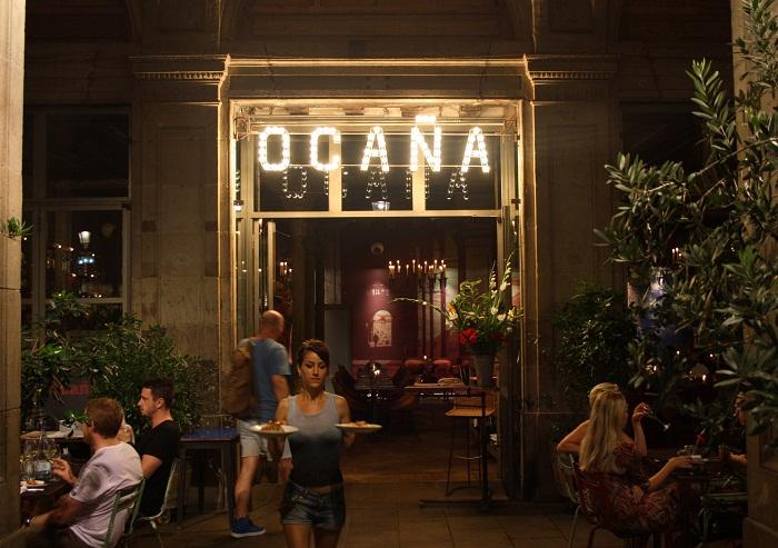 Tapas at Ocaña, Barcelona