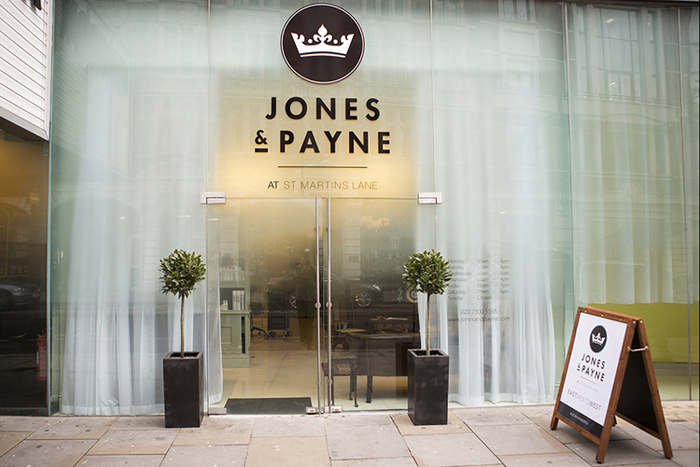 Jones & Payne St. Martins Lane, London