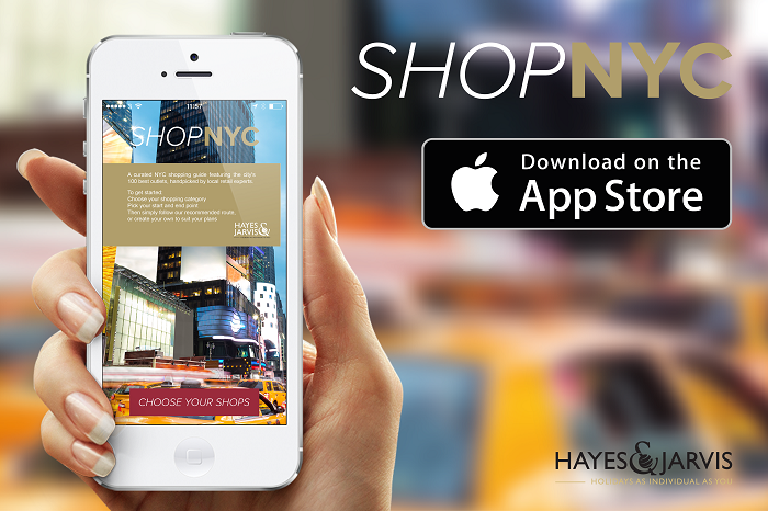 Hayes and Jarvis Shop NYC App