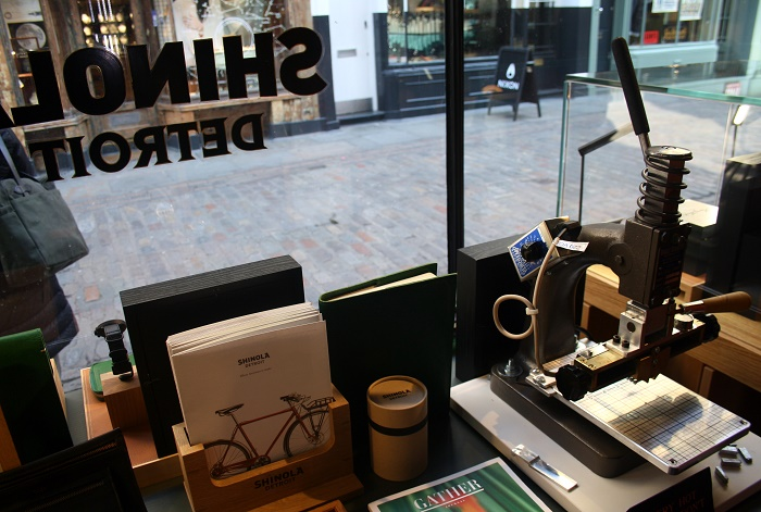 Shinola London store