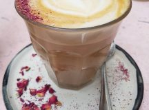 Happy Norouz! A rosewater latte isnt exactly the traditional wayhellip