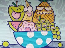 Sweet graffiti colette in Paris