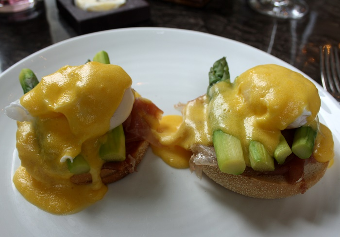 The Balcon Duck Eggs Benedict
