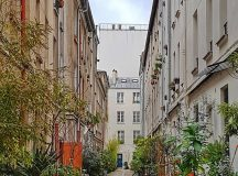 How cute is this secret courtyard in Paris! If Ihellip