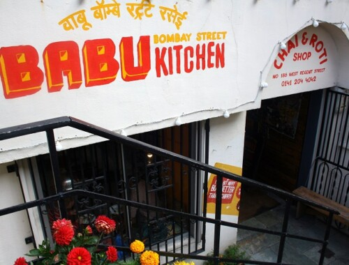 Babu Bombay Street Kitchen Glasgow