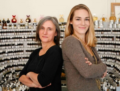 Camille Goutal and Isabelle Doyen