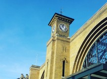 Blue skies at Kings Cross this morning A bit ofhellip