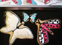 Making bluemonday that little bit sweeter with colourful biscuiteersltd butterflyhellip