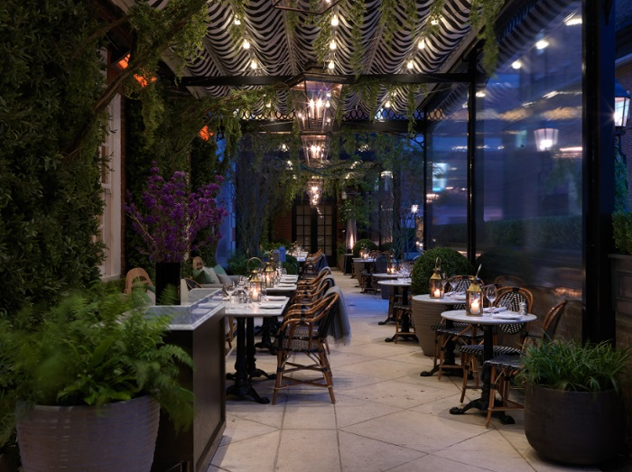 dalloway terrace at the bloomsbury hotel