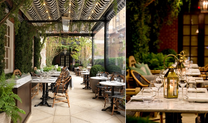 Dalloway terrace at the bloomsbury hotel for Dalloway terrace hotel
