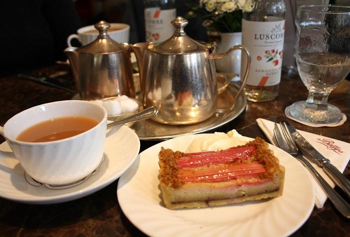 Rhubarb Cake Betty's York