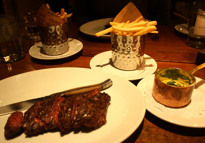 Onglet Steak Frites Hotel du Vin York