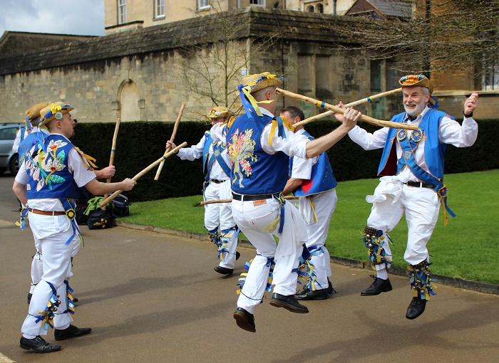 Oxford morris dancers