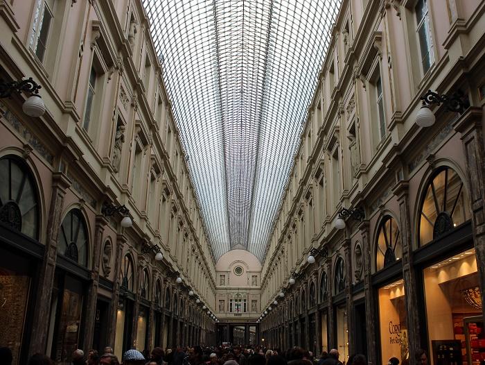 Galeries Royales Saint-Hubert Brussels