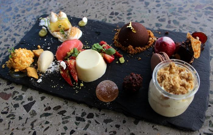Barbecoa dessert plate