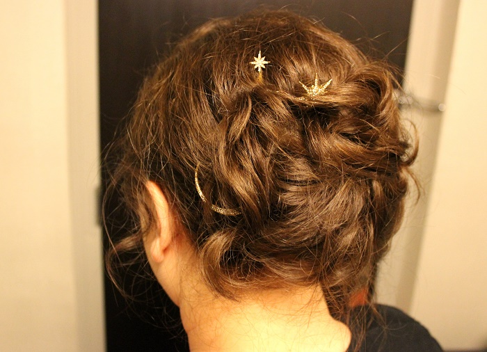Cherie City wedding hair