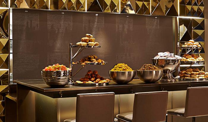 Morgans Hotel New York breakfast