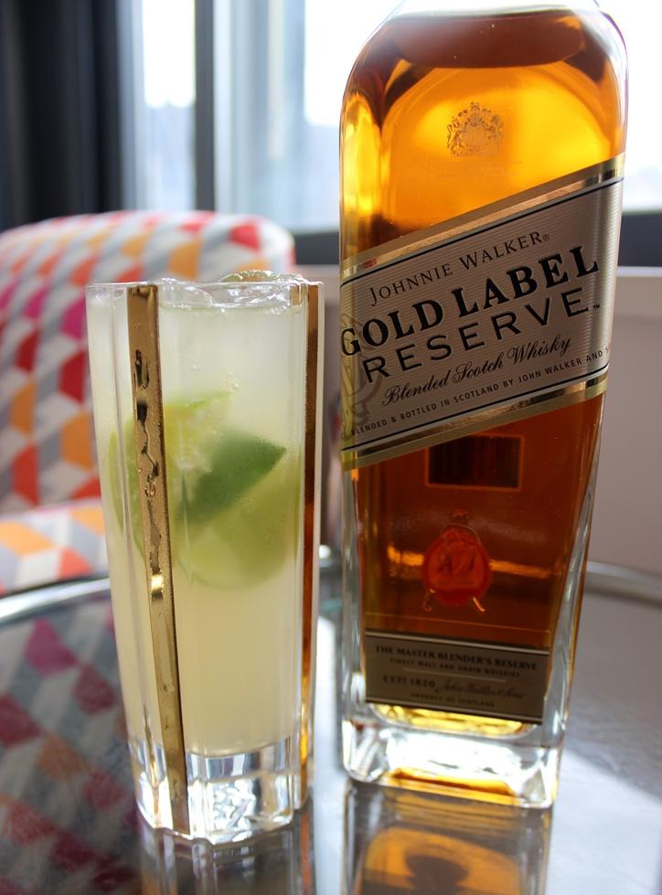 Johnnie Walker Gold Label Reserve cocktail