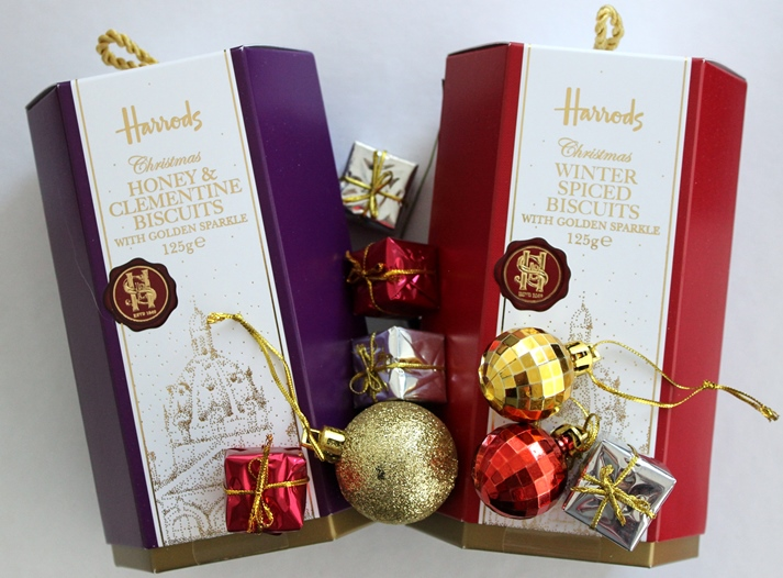 Harrods Christmas biscuits