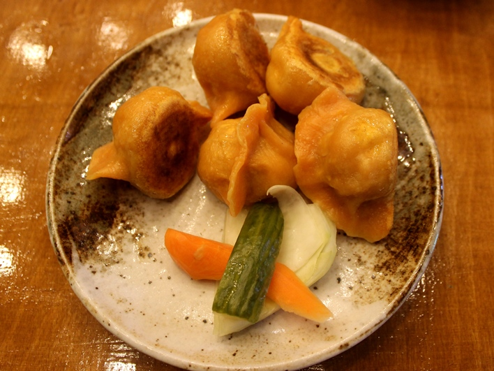 Mamalan beef dumplings