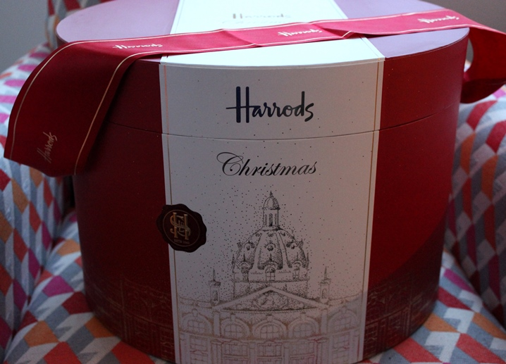 Harrods Christmas Carol hamper