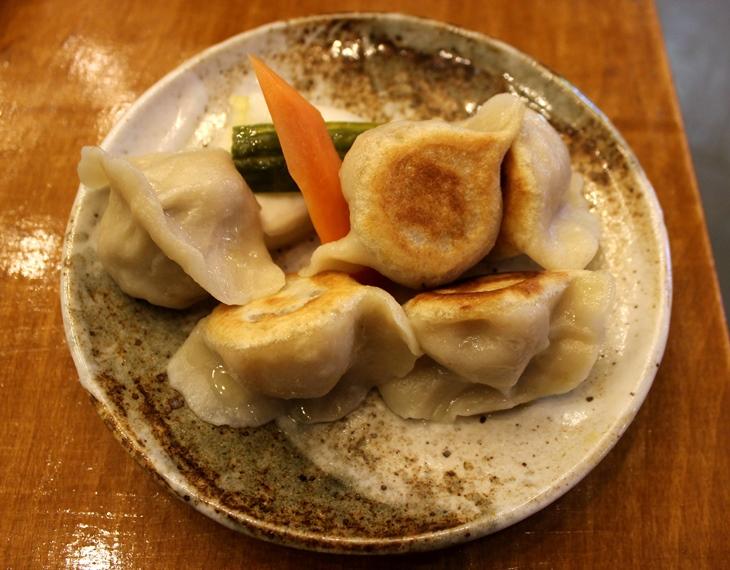 Mamalan pork dumpling