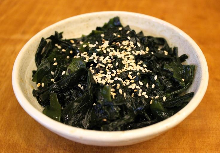 Mamalan seaweed salad