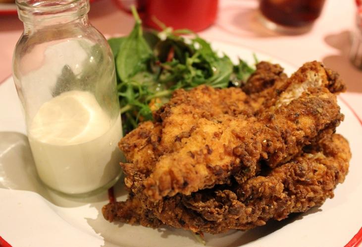 Ma'Plucker buttermilk dipped chicken breast