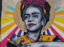 Frida 2 by zabouartist on broadwaymarket So cool and colourfulhellip