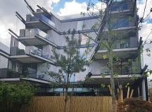 Striking design at the newlyopened nobuhotelshoreditch Ive heard good thingshellip